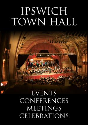 Town Hall venue hire advert