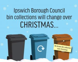 Bin collection dates for Christmas and New Year
