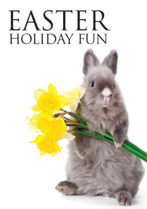Easter holiday advert