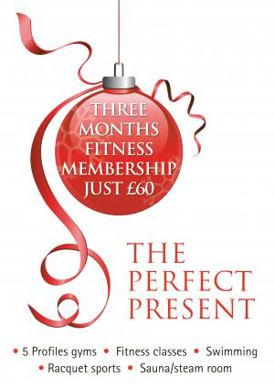 Three months fitness membership just £60