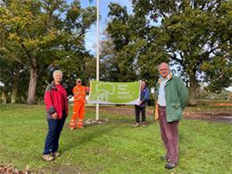 Green Flag Award at Bourne Park