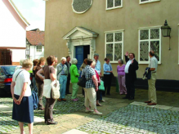 Guided walk group