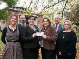 Krissy and Friends Foundation Cheque Presentation