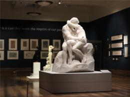 Kiss & Tell Sculpture at Christchurch Mansion