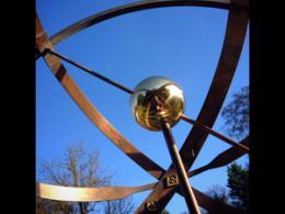 image of armillary sphere sundial
