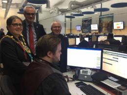 Mayor visits UK Power Networks