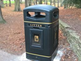 New general waste bin