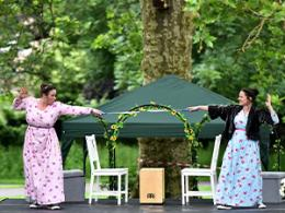 Pantaloons Open Air Theatre performance