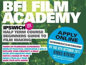British Film Institute Film Academy Flyer