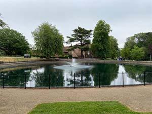 Christchurch Mansion Pond