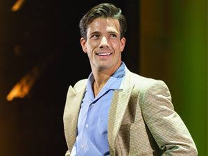 Danny Mac on stage