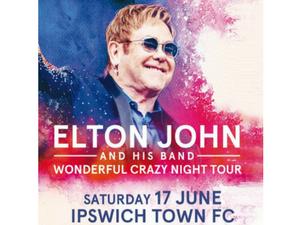 Elton John Wonderful Crazy Night Tour