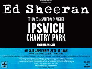 Ed Sheeran Concert Poster