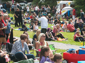Music Day crowd