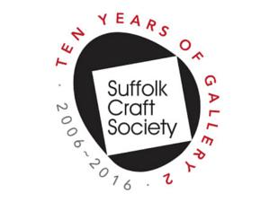 Suffolk Craft Society 10 year logo