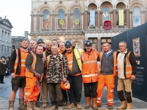 Brooks & Wood workmen
