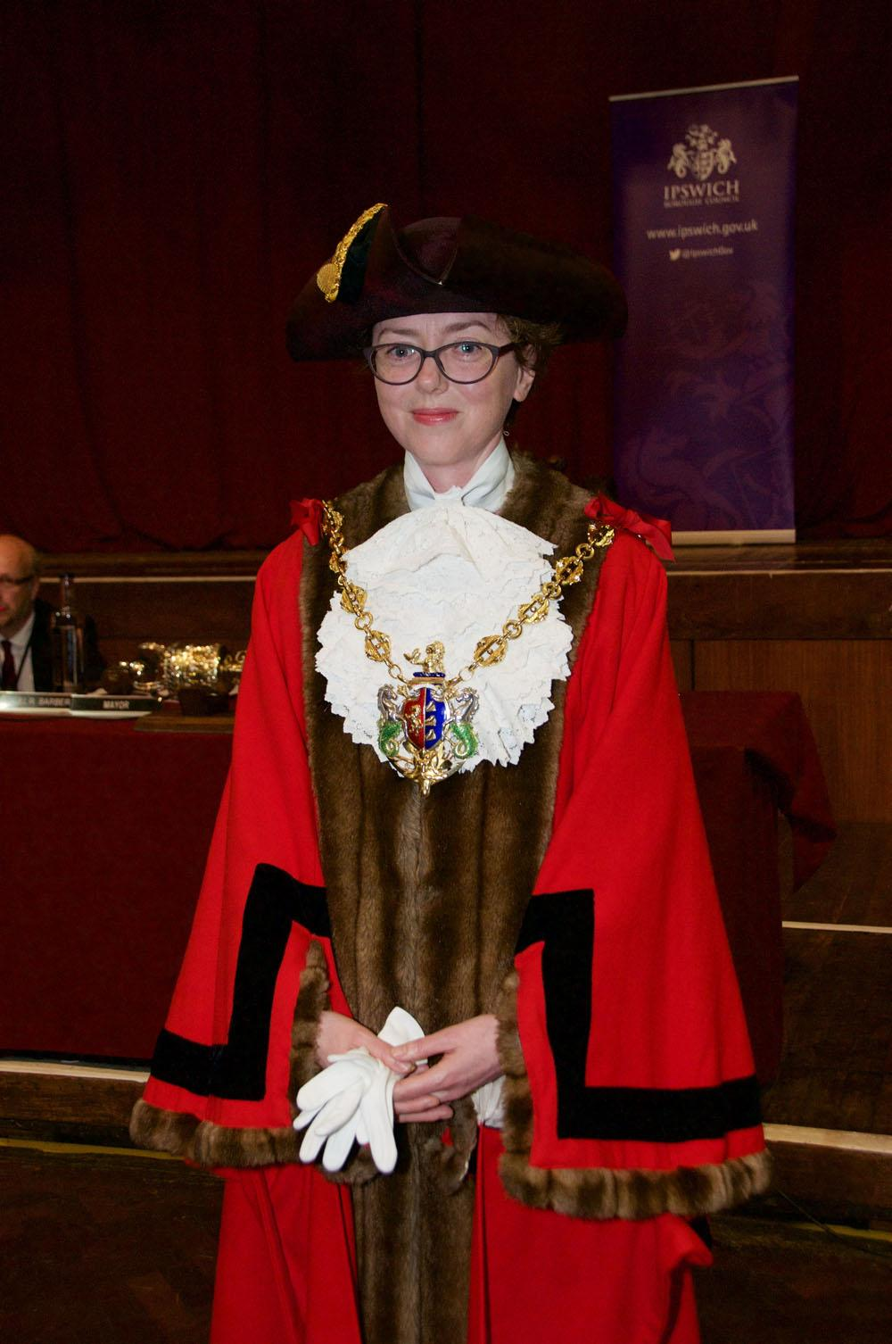 Mayor of Ipswich Councillot Sarah Barber