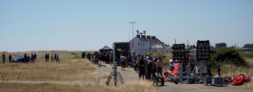Filming in Suffolk